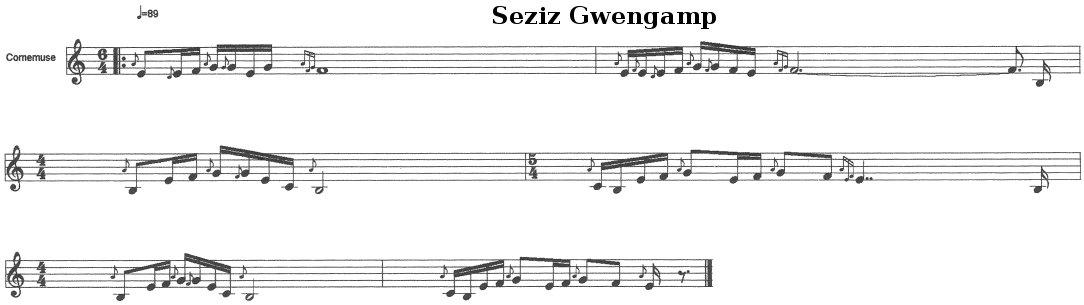 Seziz Gwengamp (Le siège de Guingamp)