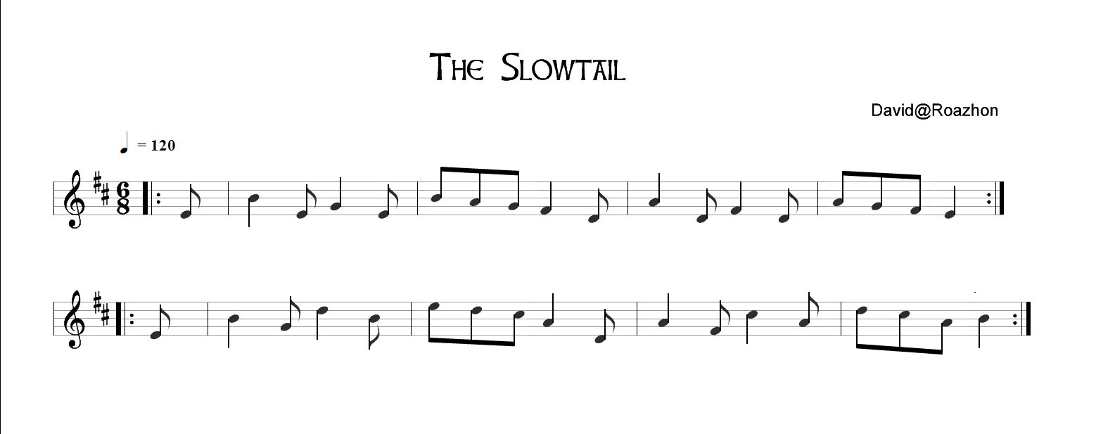 The Slowtail