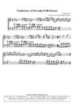 Traditioner af Swenska Folk-Dansar, 1st part, nr 2 - 1