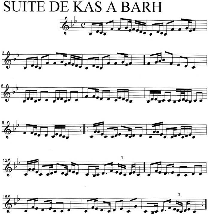 Suite de kas a barh
