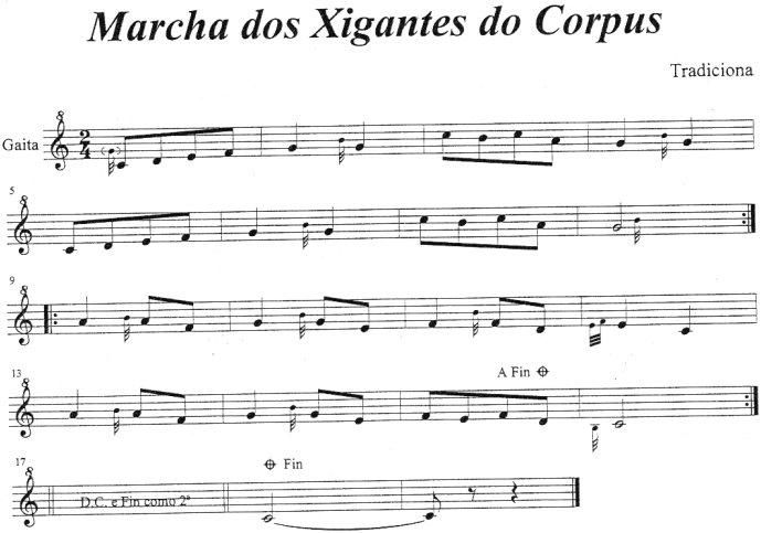 Marcha dos Xigantes do Corpus
