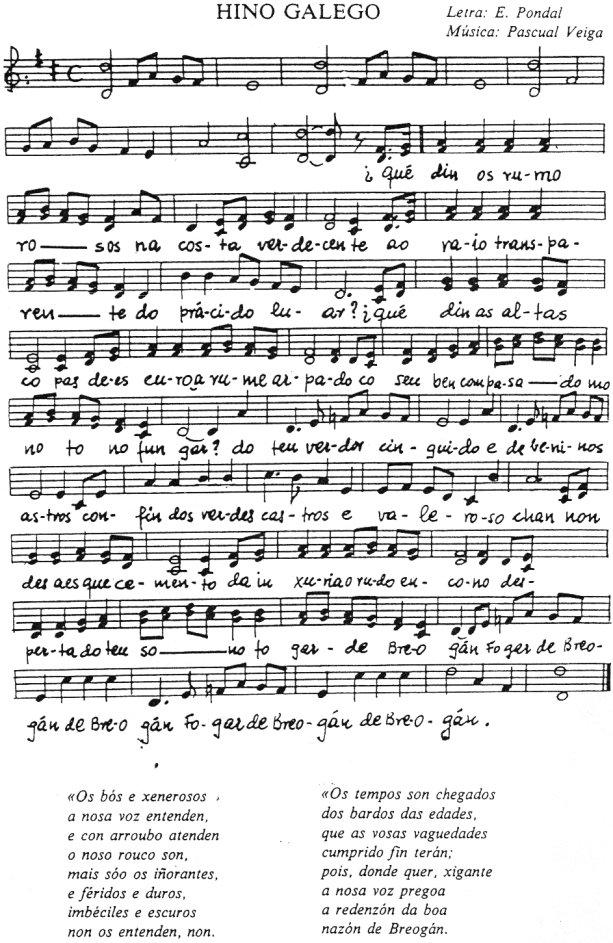 Os Pinos (Galician Hymn)