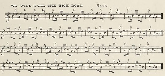 We Will Take the High Road