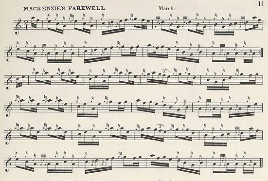 Mackenzie's Farewell
